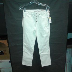 Women's High-Rise Straight Cropped Jeans
